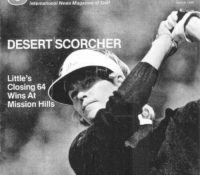Golf World magazine talking about Sally Little's win at Mission Hill in 1982