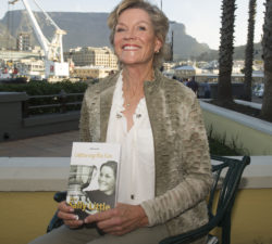 Sally Little posing with her book Capturing the Fire